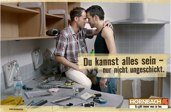 hornbach und ikea mit ungew hnlicher zielgruppen werbung gim radar. Black Bedroom Furniture Sets. Home Design Ideas