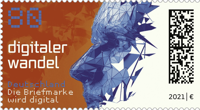 Digitale Briefmarke