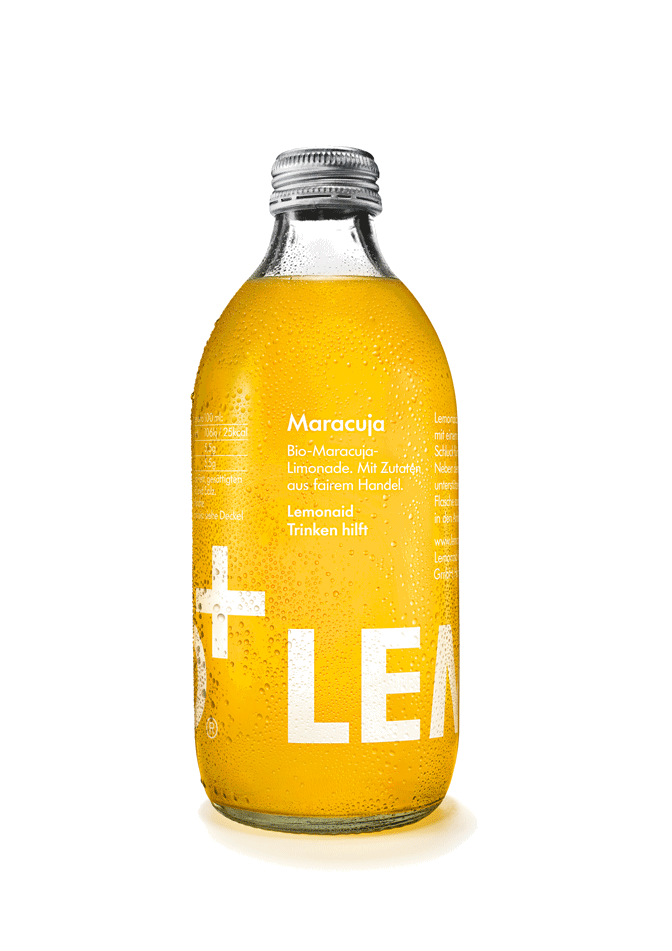 Packshot Lemonaid Maracuja
